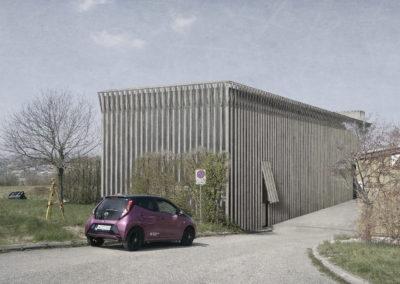 Halle industrielle à Denges