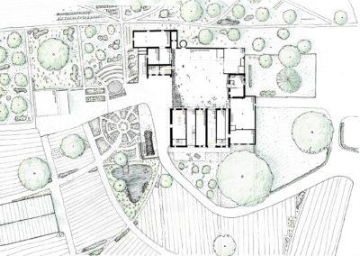 Plan des aménagements extérieurs