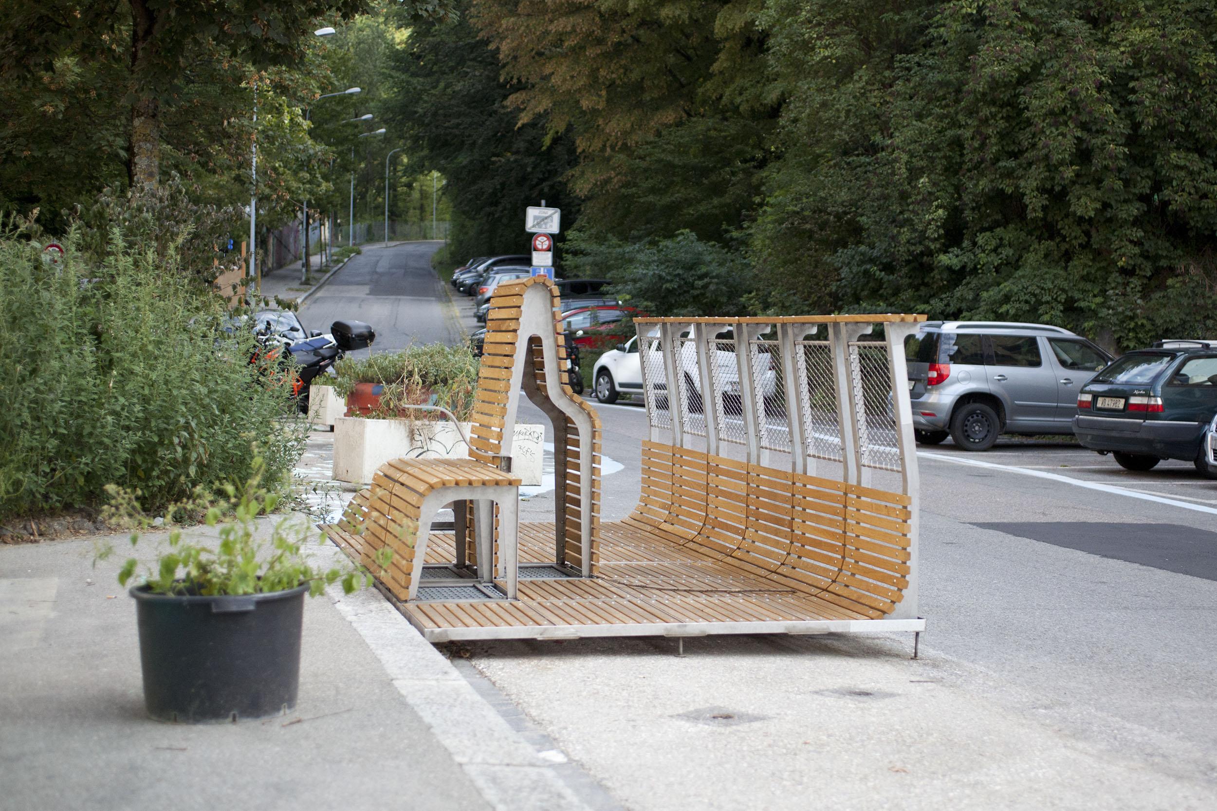 Parklet au vallon