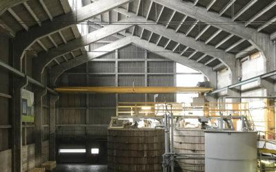 Visite de l'usine Eternit